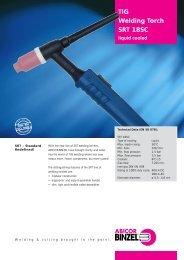TIG Welding Torch SRT 18SC - Trea Trade doo