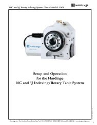 16C and 3J Rotary Indexing Systems User Manual ... - ROVI Products