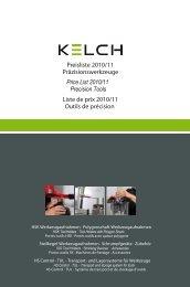 698 Spannfutter für Spannzangen ER/ESX - Kelch GmbH