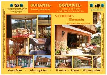HOLZ-ALU - Schantl Fenster