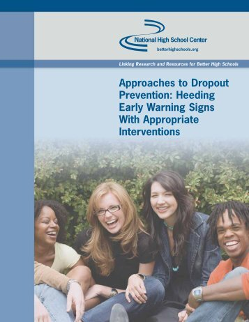 Approaches to Dropout Prevention - National High School Center