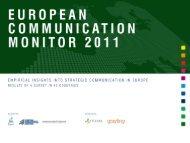 European Communication Monitor 2011 Results - Prof. Dr. Zerfaß