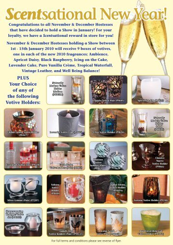 Scentsational New Year!