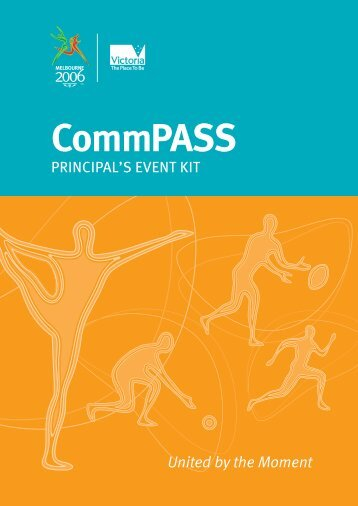 CG 8pp CommPASS Booklet.indd - Education Program - Melbourne ...