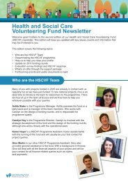 VF newsletter no.2:Layout 1.qxd - Health & Social Care Volunteering ...