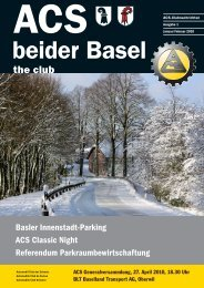 Ausgabe 1-2010 - Sektion beider Basel