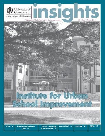 Institute for Urban School Improvement - Accelerated Schools plus