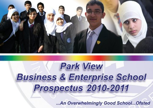 The school's specialism in business and ... - Park View School