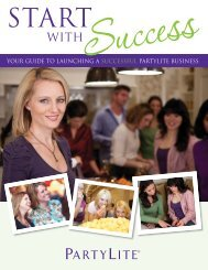 your guide to launching a successful partylite business