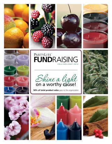 fundRAISInG - PartyLite Consultant Business Center