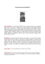 Curriculum - Associazione Nazionale Amici della