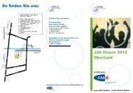 Job House 2012 Oberland