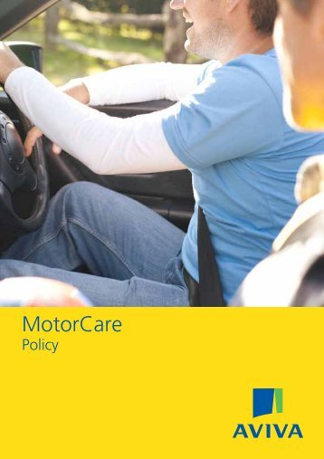 Car Policy Booklet - Aviva