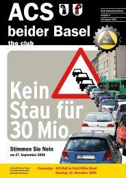 Ausgabe 4-2009 - Sektion beider Basel