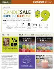 JUST $12! - PartyLite Consultant Business Center