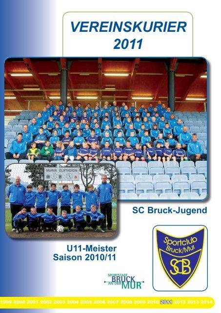 VEREINSKURIER 2011 - SC Bruck