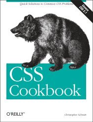 Quick Solutions to Common CSS Problems - O'Reilly Media