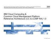 IBM Cloud Computing & Common Cloud Management Platform - IAAS