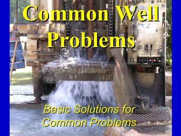 Basic Solutions for Common Problems