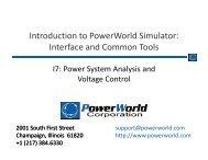 Power Flow Solution - PowerWorld