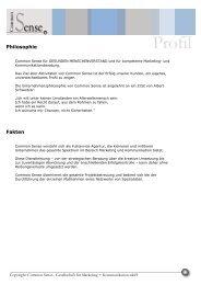 Download Gesamttext - Common Sense Marketing und ...