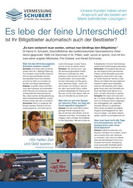 zum Download Infofolder - Vermessung Schubert