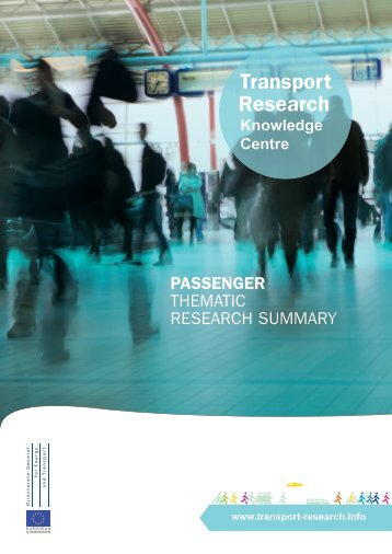 PASSENGER THEMATIC RESEARCH SUMMARY - Transport ...