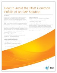How to Avoid the Most Common Pitfalls of an SAP Solution
