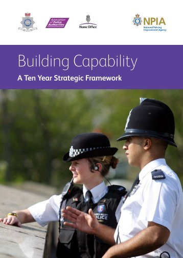 Building Capability - National Policing Improvement Agency