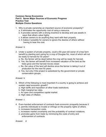 common sense economics paper By gil kalai economics and common sense economics and common sense gil kalai levine's working paper archive from david k levine date: 2008-06-09 references: view complete reference.