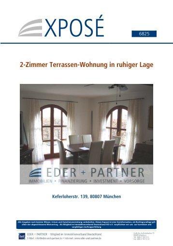 2-Zimmer Terrassen-Wohnung in ruhiger Lage