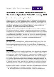 LINK Parliamentary Briefing for debate on CAP reform - Scottish ...