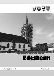 Heimatpost ¦ Nr. 70 Dezember 2011 - Edesheim