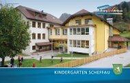 KINDERGARTEN SCHEFFAU - Salzburg Wohnbau