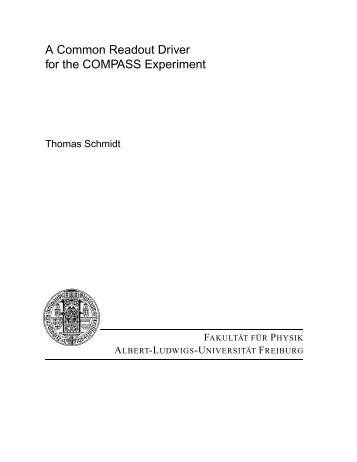 A Common Readout Driver for the COMPASS Experiment - A2 Mainz