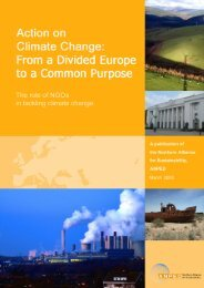 Action on Climate Change - From a Divided Europe to a ... - ANPED
