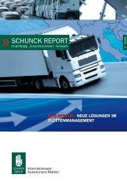 SCHUNCK REPORT 1/2009 - SCHUNCK GROUP