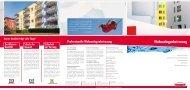 Professionelle Wohnanlagenbetreuung - Schmidt Gebäudereinigung