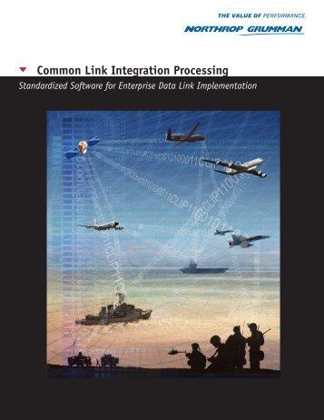 CLIP - Common Link Integration Processing - Northrop Grumman ...