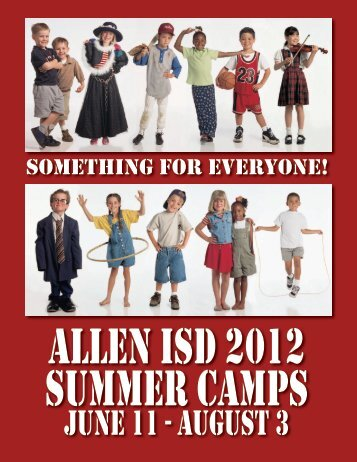 June 11 - august 3 - Allen Independent School District