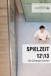 VORWORT SPIELZEIT 12\13 - Salzburger Landestheater