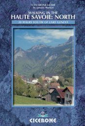 WALKING IN THE HAUTE SAVOIE: Book 1 (North)