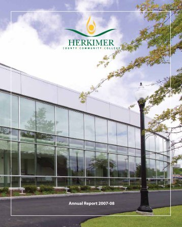 Annual Report 2007-08 - Herkimer County Community College