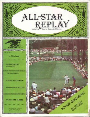 All-Star Replay Vol 4 No 1 (3.16
