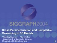 Cross-Parameterization and Compatible Remeshing of 3D Models