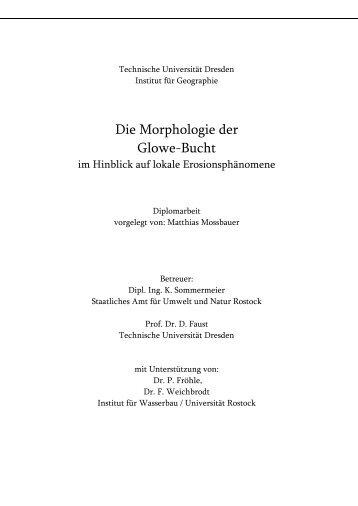 Die Morphologie der Glowe-Bucht.pdf - Küsten Union Deutschland