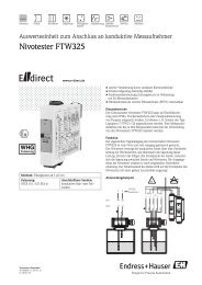 nivotester ftw325 operating instructions