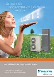 Download Altherma High Temperature Prospekt