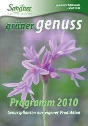 Genuss - Sandner