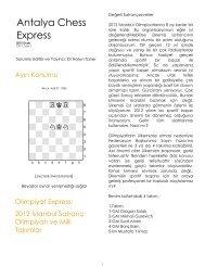 Antalya Chess Express c1_s1 ve s2 2012 ocak - Brinkster